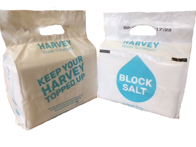 6 Packs of Harveys Block Salt